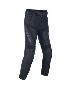 Richa Ballistic  Regular Fit Leather Trousers Black